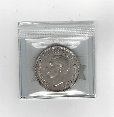 **1937**Great Britain, Crown, Coin Mart Graded **AU-55**