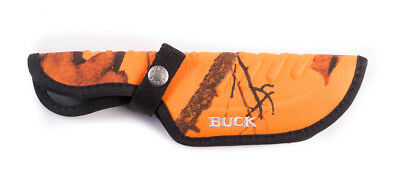 Buck Sheath 0393-15-CM9 for Omni Hunter,12 pt,Orange