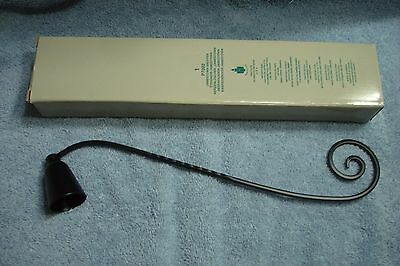 Partylite Jamestown Candle Snuffer Black New In Box