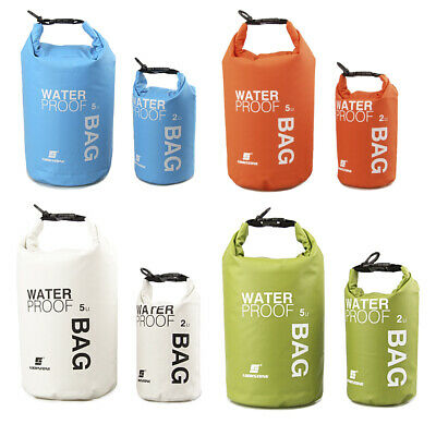Waterproof 2L SMALL Dry Bag Sack Kayak Canoe Boat Floating Camping - YOU CHOOSE