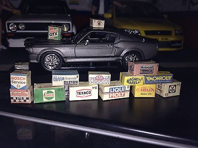 1/43 scale diorama garage Branded Boxes