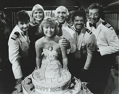 The Love Boat Cast 8 X 10 Photo With Ultra Pro Toploader