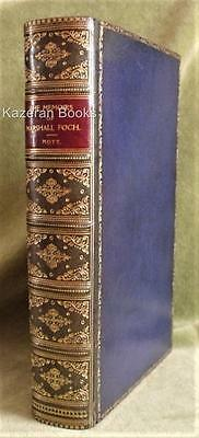 Vintage Leather WW1 Military Biography Book Memoirs Of Marshal Foch - Mott 1st