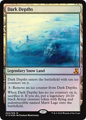 Profondità Oscure - Dark Depths mtg FOIL Eng From the Vault: Lore FTV16