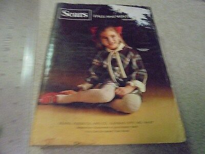 Vintage Sears 1968 Fall and Winter Catalog  Hippie Fashions
