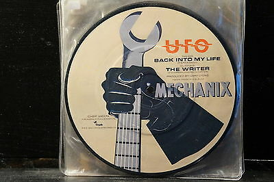 "UFO ‎– Back Into My Life / The Writer (7"" Picture-Disc)"