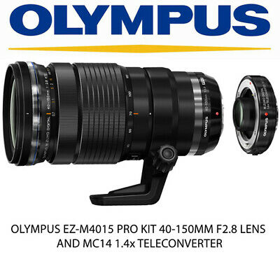 OLYMPUS EZ-M4015 PRO KIT 40-150MM F2.8 LENS + MC14 1.4x TELECONVERTER