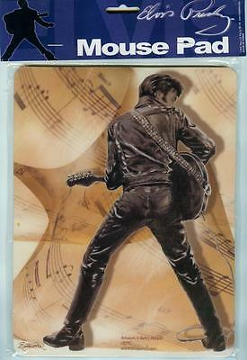 Elvis Presley ORIGINAL MUSICAL SHEET (MOUSE PAD) New With OFFICIAL HOLOGRAM