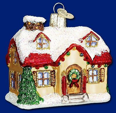 """""""Holiday Home"""" (20032) Old World Christmas Ornament w/OWC Box"""