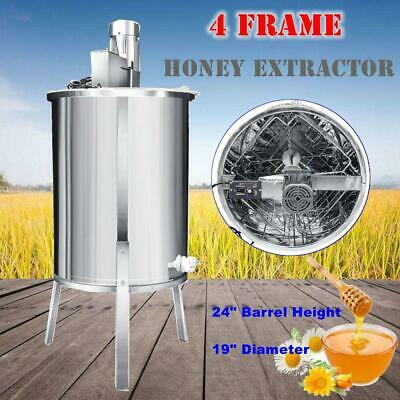 HD 4 Frame Stainless Steel Electric Honey Extractor Beekeeping Equipment