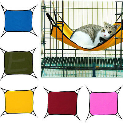 Pet Cat Hammock Soft Bed Animal Hanging Pupply Dog Comforter Ferret Cage House