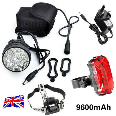 Super Bright 35000LM CREE T6 LED Mountain Bike Light Cycling Bicycle Head Light