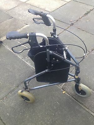 3 wheeled rollator walker Mobility Aid