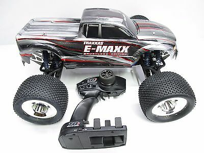 Traxxas 1/8 RTR E-Maxx Castle Brushless Alloy Upgraded 4WD Monster Truck RC Car