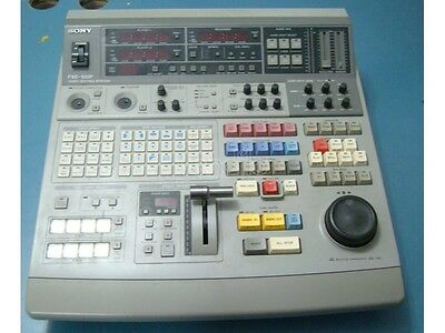 Mixer Video Sony Fxe-100P Video Editing Usato