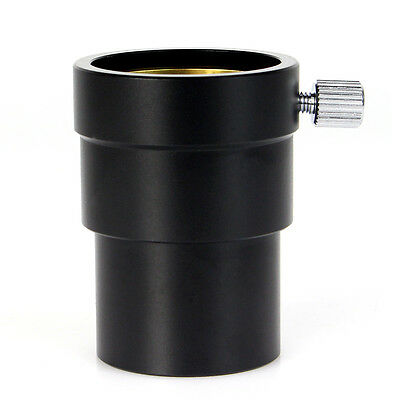 """1.25""""Extension Tube for 1.25'' Telescope Eyepiece w/ Brass Compression Ring Top"""