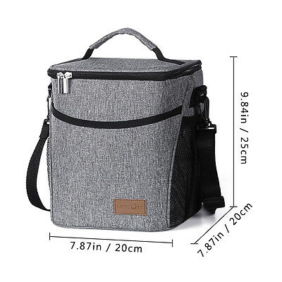 Lifewit Waterproof Cooler Bag Lunch Box Thermal Insulated Picnic Storage Tote