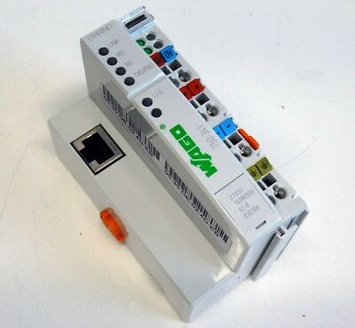 WAGO 750-341 Ethernet TCP/IP 10/100 MBit Feldbuskoppler 24V DC -unused-