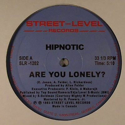 """HIPNOTIC - Are You Lonely - Vinyl (12"""")"""