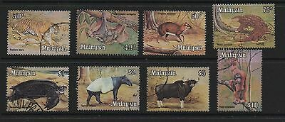 Malaysia 1979 Animals definitives SG190-197 fine used set stamps to $10