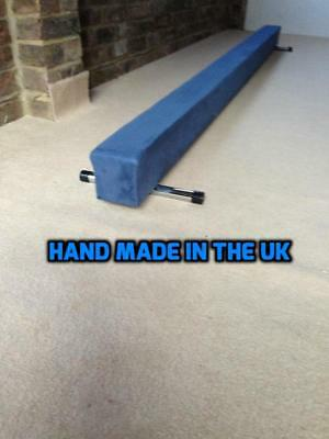 finest quality gymnastics gym balance beam blue 4FT long reduced  bargain