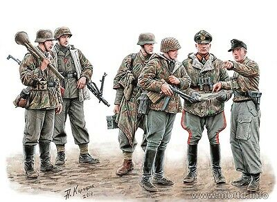Master Box MB35162 Lets stop them here! German Military Men 1945