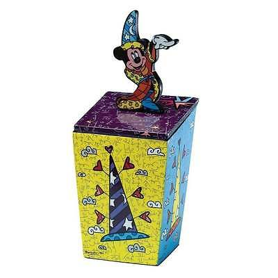 Disney By Britto Fantasia Sorcerer Mickey Mouse Lidded Box New Boxed 4019378