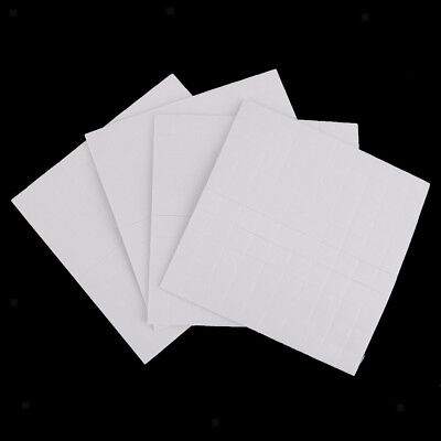 400pcs Double Sided Adhesive Foam Pads Square Sticky Fixers 3D Effect 2mm
