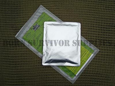 SELF HEATING RATION PACK READY MEAL Camping Hiking Food Pouch Army Survival MRE