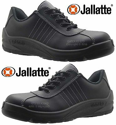 Mens Jallatte Ultra Light Weight Work Steel Toe Cap Safety Shoes Trainers Boots
