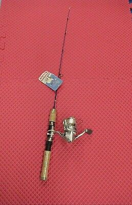 "K & E  30"" Skandia Perch And Panfish Ice Rod And Whip'r Reel Combo  Pnrc-30"