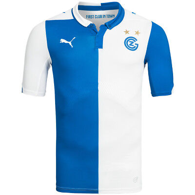 Grasshopper Club Zürich PUMA Herren Heim Trikot 746088-01 Player Issue Schweiz