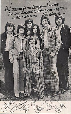 Osmonds The Official Fan Club Photo 1973/4