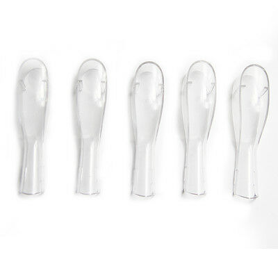 5 Protective Cover Fit Braun Oral B Cross Action Toothbrush Heads Caps SR32/SR18