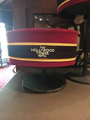 Disney Parks Tower Of Terror Bellhop Hat Hollywood Tower Hotel HTH New With Tag