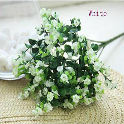 Artificial Gypsophila Silk Flower Plant Banquet Home Wedding Party Table Decor