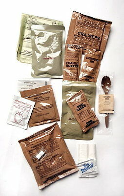 US ARMY Notration MRE Meal Ready to eat  Menü Nr. 9