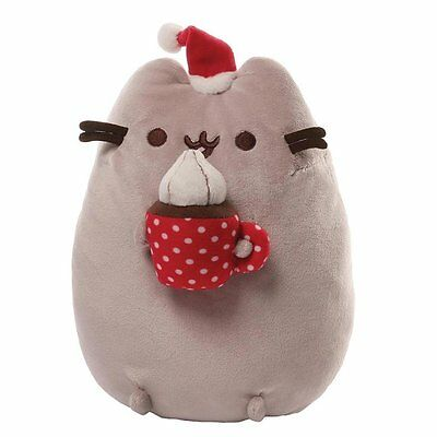 """Gund Pusheen Snackable Hot Chocolate 10""""- NEW with tags, by GUND!"""