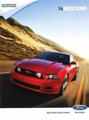 2014 Ford Mustang, GT V6 Premium, Shelby GT500 Sales  Brochure