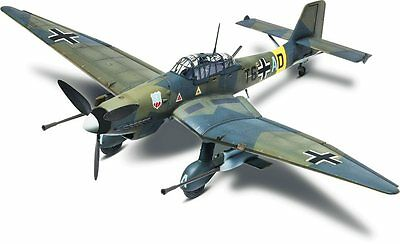 Stuka Ju 87G-1 WW2 Fighter 1/48 scale skill 4 Revell plastic model kit#5270