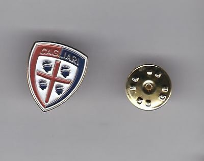 Cagliari ( Italy ) - lapel badge butterfly fitting