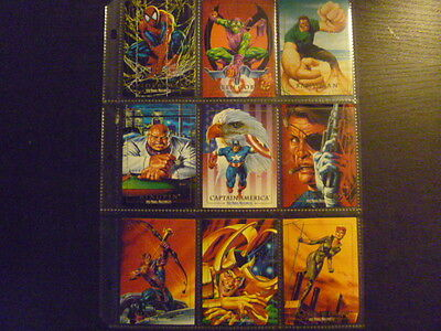 Marvel Masterpieces 1992 Skybox - Assorted Marvel Characters Trading Cards