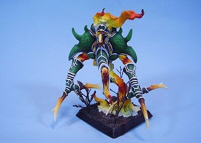 Confrontation painted miniature Fire Elemental