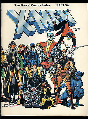 Marvel Comics Index (1976) #9A 1st Print The X-Men Issues 1-152 Indexed VG/FN