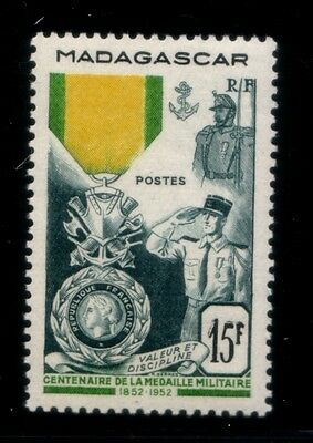 MADAGASCAR Centenary of the French Military Medal MNH stamp
