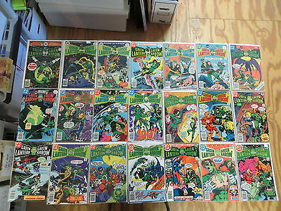 Green Lantern 70 Issue Bronze Comic Run 90-195 Dc