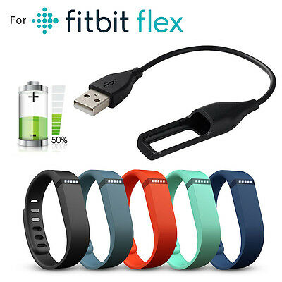 For Fitbit Flex Replacement USB Charger Tracker Wristband Charging Cable Cord