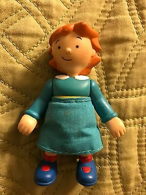 PBS Caillou Rosie Figures Movable Arms And Legs