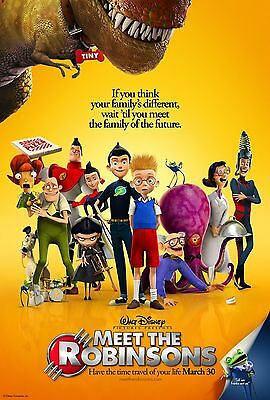Meet The Robinsons Laminated Mini Movie Poster Disney