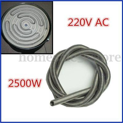 "Kiln Experimental Furnace Electric Wire 220V 2500W 64CM 25"" Coil Heating Wire"